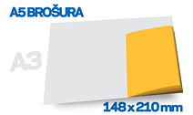 Brošura A5 COLOR